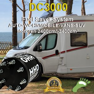 carbonzero-hho HHO Kit DC3000 2400cm³>3400cm³