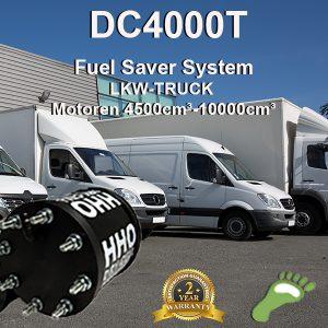 Carbonzero-hho HHO Kit DC4000T LKW 4500cm³>10000cm³