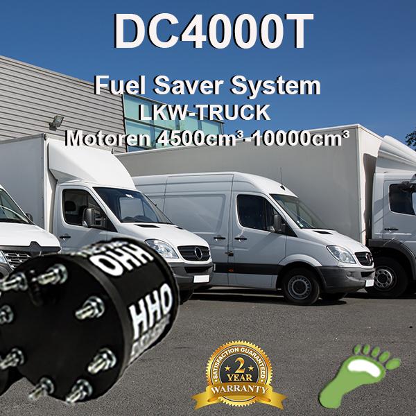 Carbonzero-hho DC4000T Brenstoffzellensystem LKW