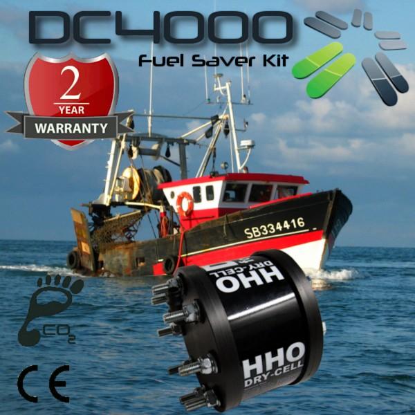 Carbonzero-hho-Gas Brenstoffzellengenerator & Kraftstoffsparsystem Schematics Fischerboot