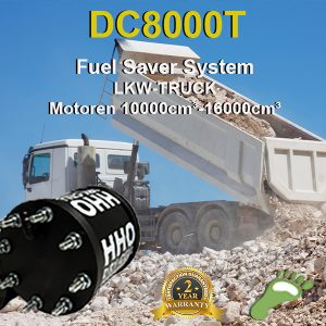 Carbonzero-hho HHO Kit DC8000T LKW 10000cm³>16000cm³