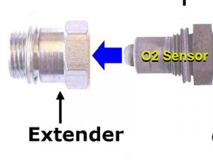 Carbonzero-hho Lambdasonde Adapter